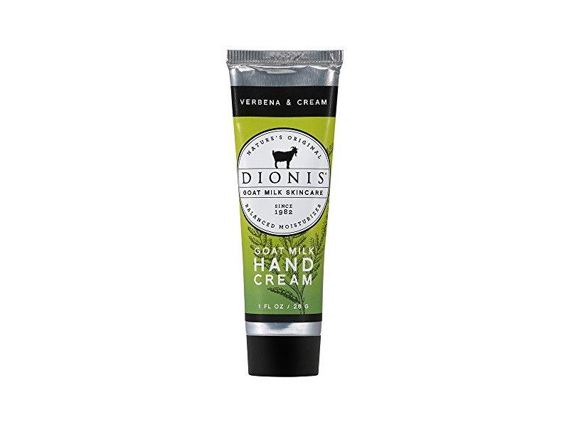Dionis Goat Milk Hand Cream, Verbena & Cream, 1 fl oz