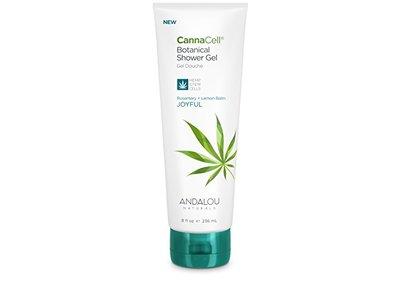 Andalou Naturals CannaCell Shower Gel, Joyful, 8.5 Ounce