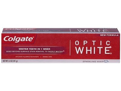 Colgate Optic White Anticavity Fluoride Toothpaste (pack of 2)