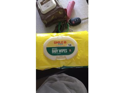 Smile Amp Save Baby Wipes Unscented 120 Ct Ingredients And