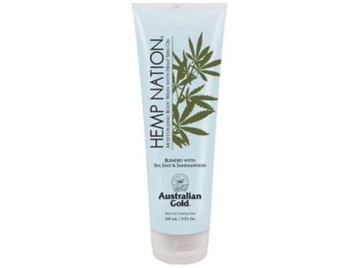 Australian Gold Hemp Nation Moisturizing Body Wash, Sea Salt & Sandalwood, 8 fl oz