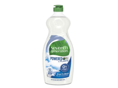 Seventh Generation Dish Liquid, Free and Clear, 25 fl oz - Image 3