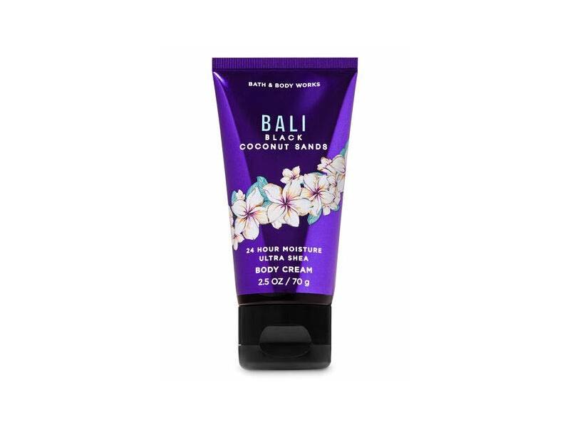 Bath & Body Works Bali Black Coconut Sands Body Cream, 2.5 oz