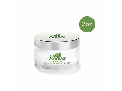 Keeva Organics Acne Treatment Cream With Secret Tea Tree OIL Formula (2oz)