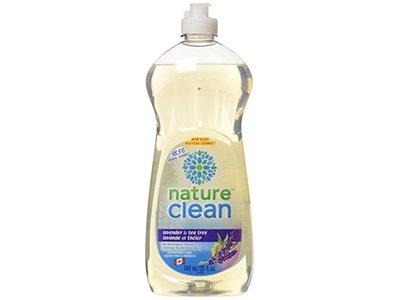 Nature Clean Dish Soap, Lavender, 740 ML