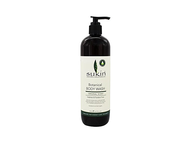 Sukin Botanical Body Wash Original Scent - 16.9 fl. oz.