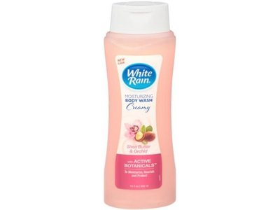 White Rain Active Botanicals Creamy Shea Butter and Orchid Moisturizing Body Wash, 18 Fluid Ounce
