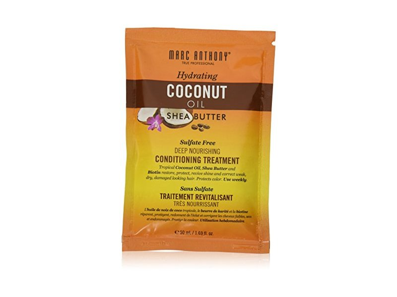 MARC ANTHONY Hydrating Coconut Oil & Shea Butter Deep Nourishing Conditioning Treatment, 1.69 fl oz