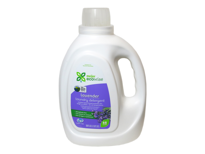 Meijer Ecowise Lavender Laundry Detergent, 66 loads