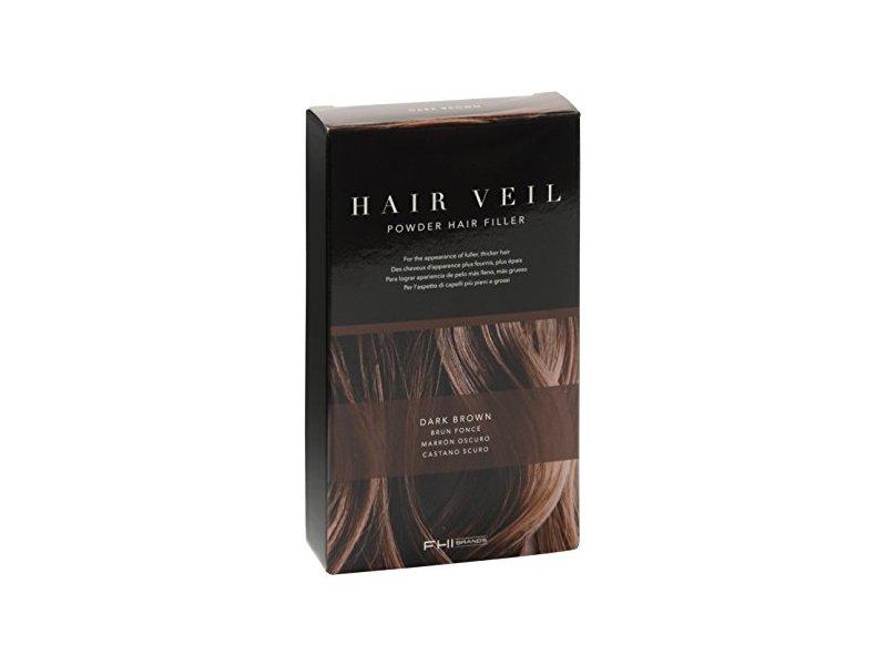 FHI Brands Hair Veil Powder Hair Filler, Dark Brown, 0.14 oz