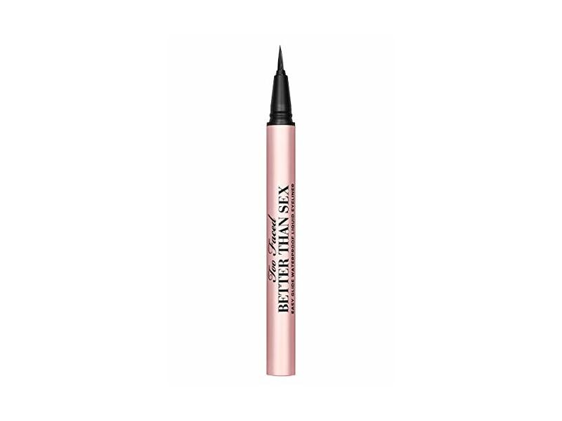 Too Faced Better Than Sex Easy Easy Glide Waterproof Liquid Eyeliner, 0.02 fl oz