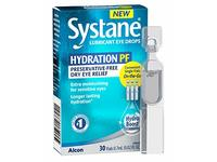 Alcon Systane Hydration Preservative-Free Lubricant Eye Drops 30ct Vials, 30 Count - Image 2
