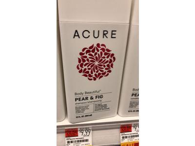 Acure Body Beautiful Shampoo, Pear & Fig, 12 Fluid Ounces - Image 3