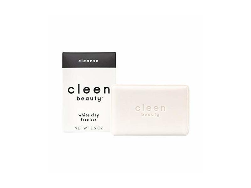 Cleen Beauty White Clay Face Bar, 3.5 oz
