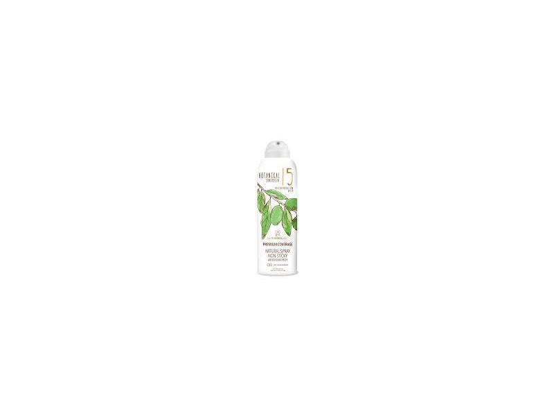 Australian Gold Premium Cover Natural Spray Botanical Sunscreen, SPF 15