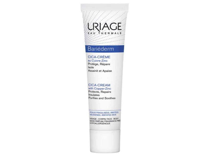 Uriage Eau Thermale Bariederm Cica-Cream With Copper-Zinc, 1.35 fl oz