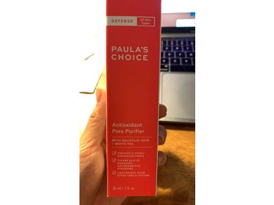 Paula's Choice-DEFENSE Antioxidant Pore Purifier, Concentrated Serum With Azelaic Acid, Salicylic Acid & White Tea, 1 Ounce Tube - Image 3