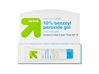 Up & Up 10% Benzoyl Peroxide Gel Acne Medication, 1 oz - Image 1