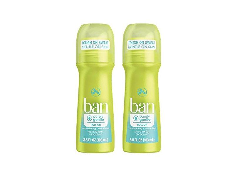 Ban Roll-On Antiperspirant Deodorant, 3.5 oz
