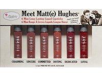 theBalm Meet Matt(e) Hughes Mini Long-Lasting Liquid Lipsticks, 0.04 fl. oz. (Set of 6) - Image 4