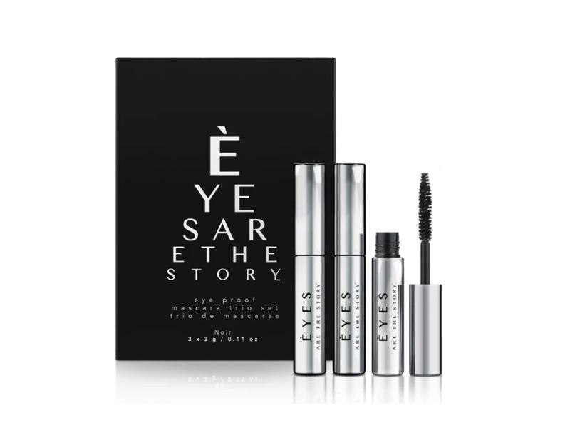 Eyes Are the Story Eye Proof Mascara Trio Set, 3x3 g/0.11 oz