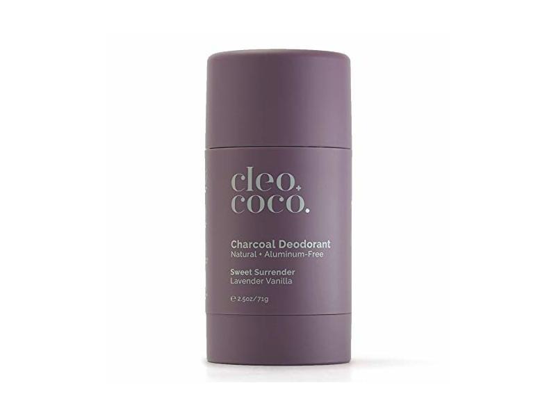 Cleo+Coco. Charcoal Deodorant, lavender vanilla, 2.5 oz/71 g