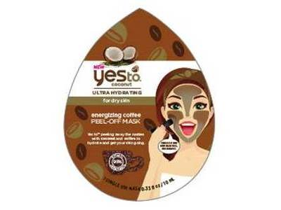 Yes To Coconut Energizing Coffee Peel-off Mask