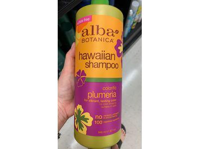 Alba Botanica Hawaiian Shampoo, Plumeria, 32 Ounce - Image 3