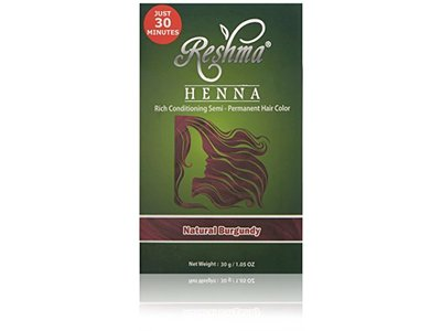 Reshma Beauty Natural Burgundy 30 Minute Henna Hair Color - Image 1