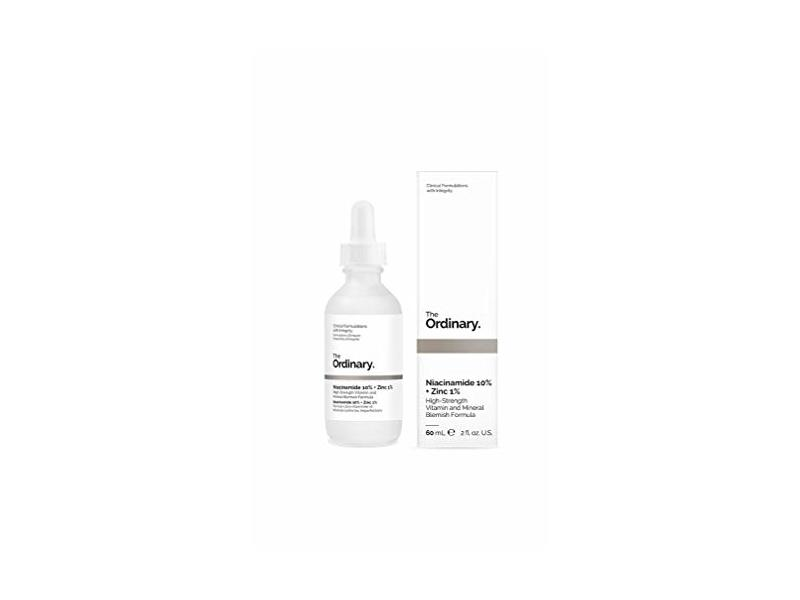 The Ordinary Niacinamide 10% + Zinc 1%, 60 mL/2 fl oz