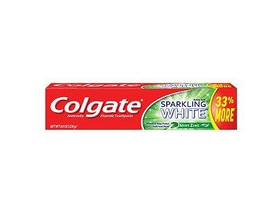 Colgate Sparkling White, Mint Zing, Gel Toothpaste, 8 oz
