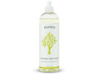 Puracy Natural Dish Soap, Organic Lemongrass, 16 fl oz (473 mL) - Image 2