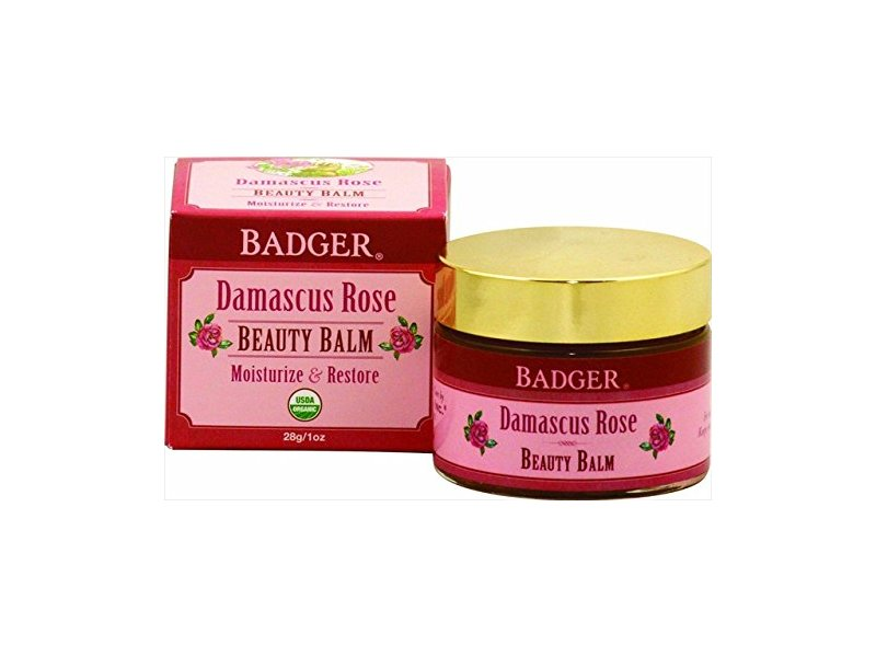 Badger Damascus Rose Beauty Balm