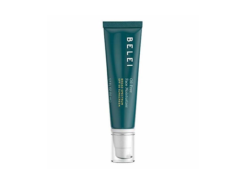 Belei Oil-Free Face Moisturizer, UVA/UVB SPF 50 Sunscreen, 1.7 Fluid Ounce (50 mL)