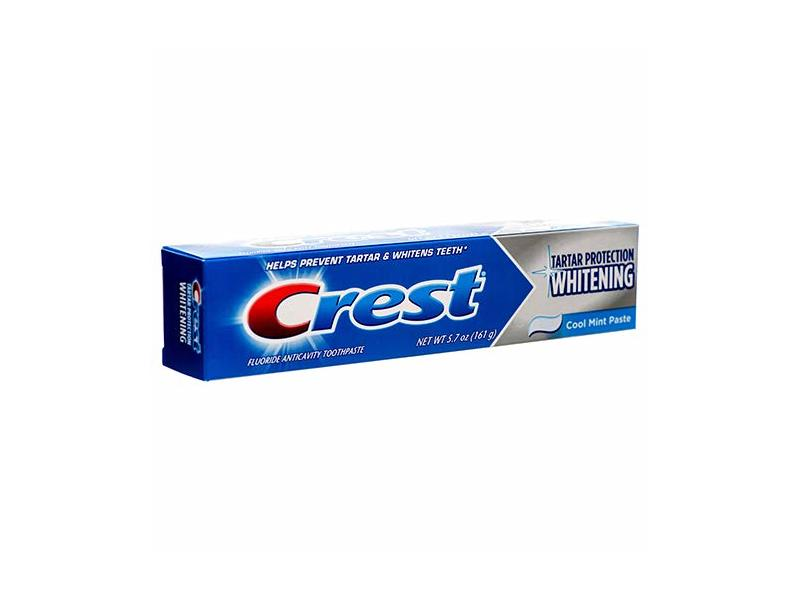 Crest Toothpaste Whitening Cool Mint Paste, 5.7 OZ