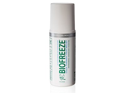 Biofreeze Cold Therapy Pain Relief Roll On, 3 oz