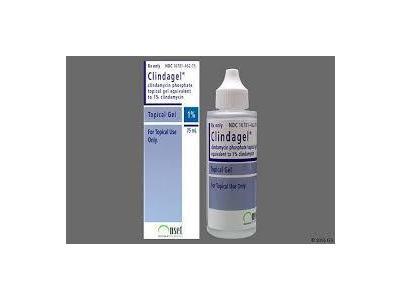 Clindagel Topical Gel 1% (RX), 75 ml Ortho Dermatologics