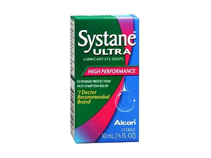 Systane Ultra Lubricant Eye Drops, 10 mL