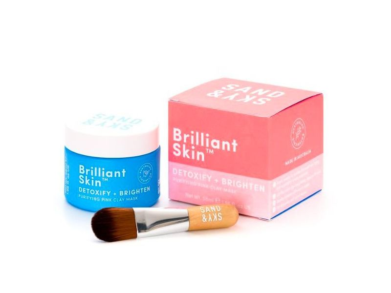 Sand & Sky Brilliant Skin Purifying Pink Clay Mask