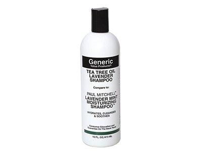 Generic Value Products Tea Tree Oil Lavender Shampoo