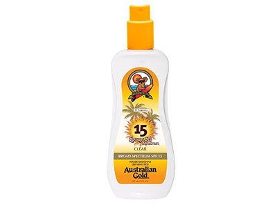 Australian Gold SPF 15 Spray Gel Sunscreen, Clear, 8 Fl Oz - Image 3