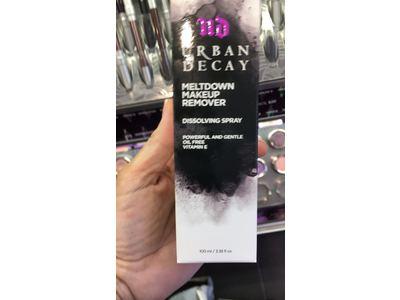 Urban Decay Meltdown Makeup Remover Dissolving Spray, 3.38 fl oz - Image 3