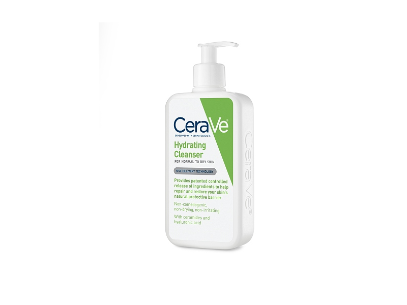 CeraVe Hydrating Cleanser, Normal to Dry Skin, 12 fl oz