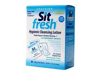 SitFresh Hygienic Cleansing Lotion, 1.75 fl oz (20 Packets) - Image 2