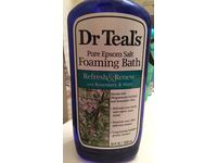 Dr Teal's Pure Epsom Salt Foaming Bath, Refresh & Renew with Rosemary and Mint, 34 fl oz - Image 4