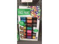 Horizon Group Face Paint Washable Paint Color Value Pack, 24 Jars - Image 3