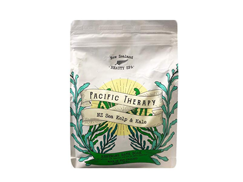 New Zealand Beauty Spa Pacific Therapy NZ Sea Kelp & Kale Renewing Bath Soak, 36.3 oz/1000g