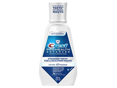 Crest Pro-Health Advanced Mouthwash with Extra Whitening, Energizing Mint, 31.9 Fluid Ounce