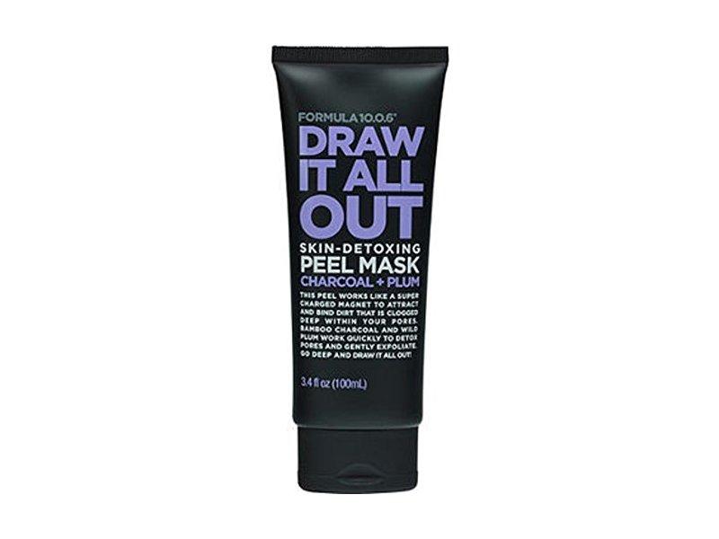 Formula 10.O.6 Draw It All Out Skin-Detoxing Charcoal + Plum Peel Mask, 3.4 fl oz