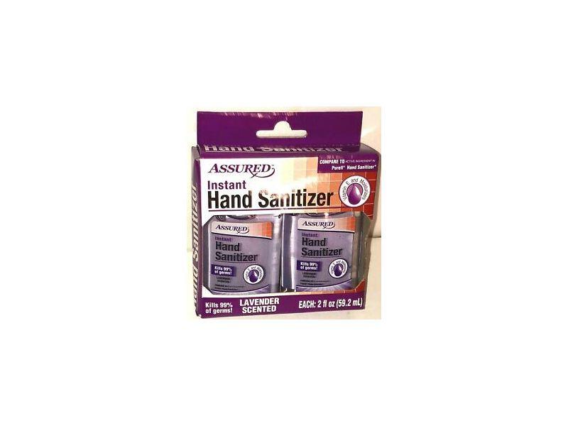 Assured Instant Hand Sanitizer, Lavender Scented, 2 fl oz